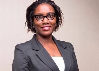 Stanbic Bank's Head of Customer Channels, Miriam Naigembe