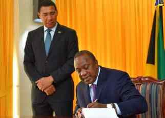 Jamaica and the Republic of Kenya have signed four agreements, which will facilitate collaboration in sports, culture, tourism, among other areas.