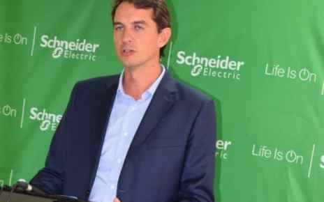 Edouard Heripret, the Schneider Electric general manager East Africa