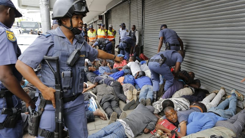 As of Monday this week, the South African Police has reported that it has arrested 639 people related to the xenophobic attacks that recently happened in South Africa causing a number of foreign nationals mostly Nigerians to flee the country.