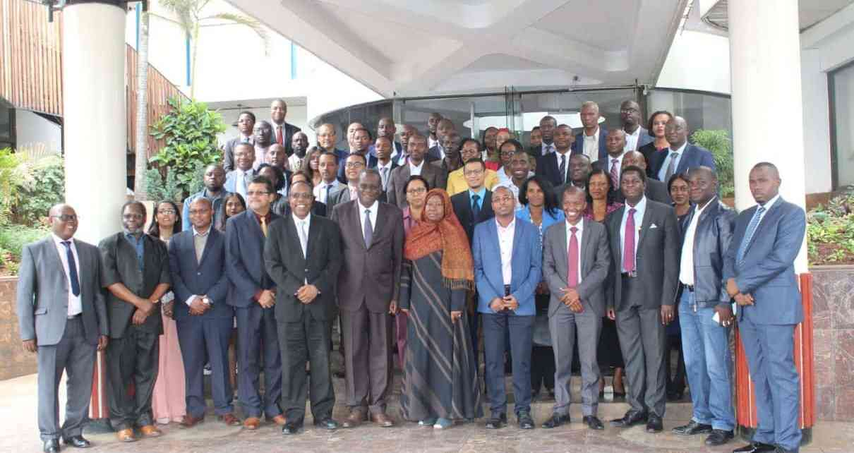Participants attending the 6th COMESA Annual Research Forum in Nairobi, Kenya, in a group photograph.