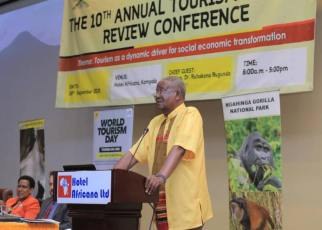 Uganda's Tourism sector has continued to register significant and progressive improvements as shown by several development indicators such as tourist arrivals, foreign exchange earnings, growth in domestic tourism, employment and tourism business among others, the Minister of Tourism, Wildlife and Antiquities Prof. Ephraim Kamuntu has said.