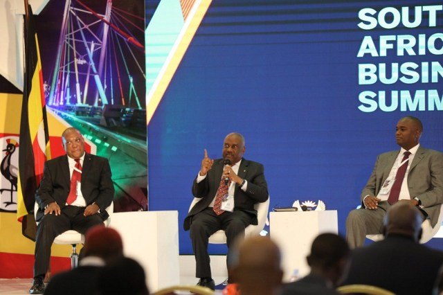 Rugunda said that today, over 70 South African companies are registered and running top businesses in Uganda and are estimated to have total assets of over $3Billion.