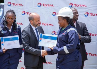 French Company  Total E&P Uganda has boosted the National Content Capacity pool by unveiling the first group of internationally certified oil and gas welders at Buhimba Technical Institute in Hoima district.