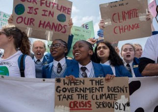 For more than a year, children and young people from around the world have been striking for the climate.