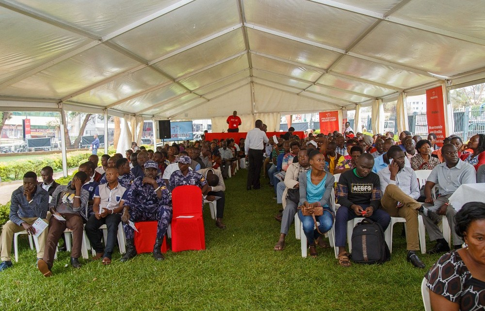 Just over 3000 Ugandans turned up last week for a free heart camp that was organized by Prudential Uganda at Constitutional Square in Kampala. The Heart Camp ran for three consecutive days.