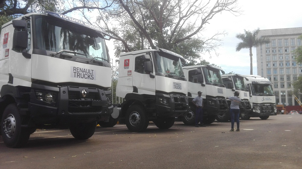 French Company Renault introduces Safety+ Edition Trucks in Uganda