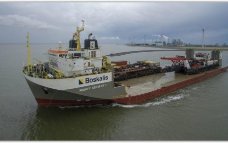 Dutch marine company Boskalis has secured new contracts worth US Dollars 120 for heavy marine transport services.