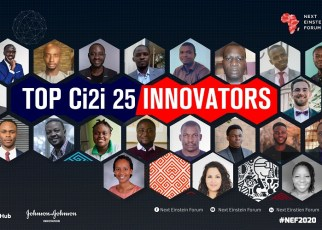 Today, the Next Einstein Forum (NEF) announces the 25 finalists for its Challenge of Invention to Innovation (Ci2i) competition in five categories to be held on 10-11 March 2020 in the NEF Innovation Salon.