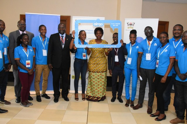 Uganda's  Minister of ICT and National Guidance, Judith Nabakooba who was the chief guest congratulated the implementers of AirQo for their achievement and further appreciated all the partners that have participated in the initiation and the realization of the project.