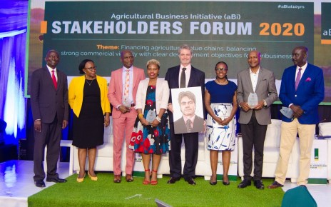 Agricultural Business Initiative Development Limited (aBi), has marked 10 years of existence and unveiled a new 5-year business plan at a colourful stakeholder Forum that was held at Kampala Serena Hotel.