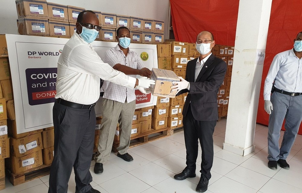 Dubai based maritime company DP World is targeting to distribute food across Somaliland for the next ten days.