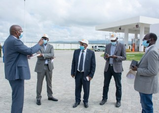 Rwanda, South Sudan and the Democratic Republic of Congo are impressed with the operations at the Naivasha Inland Container Depot in Kenya.