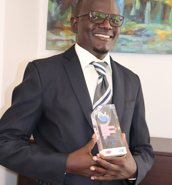 The International Association of Oil & Gas Producers (IOGP) has presented the 2020 Outstanding Young Professional Award (OYPA) to David Ochanda, Biodiversity Coordinator with Total, Uganda.