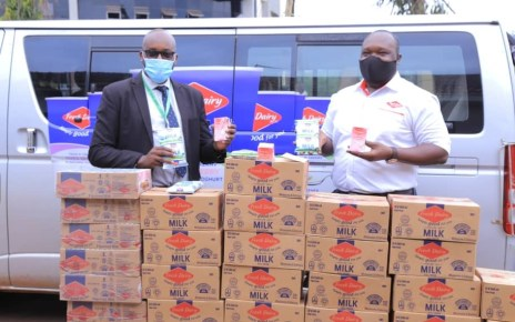 Fresh Dairy has handed over approximately 264 litres of milk to the Dairy Development Authority (DDA) in aid of their clean milk handling and production campaign which is expected to attract over 400 dairy farmers from various organizations across Uganda.