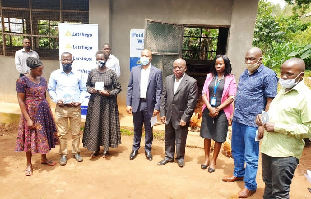 "Letshego has officially handed over poultry projects to respective farmers and beneficiaries that took part in the ""Improving Life Campaign"" (ILC)."