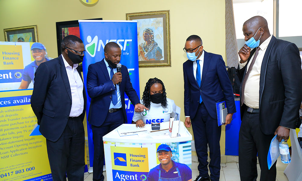 Housing Finance Bank Partners with NSSF to Enable Social Security Contributions through Agency Banking