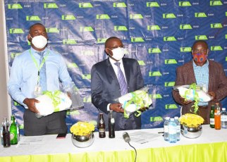 12 million Shillings Worth of Medical Equipment Donated - KCB Uganda.