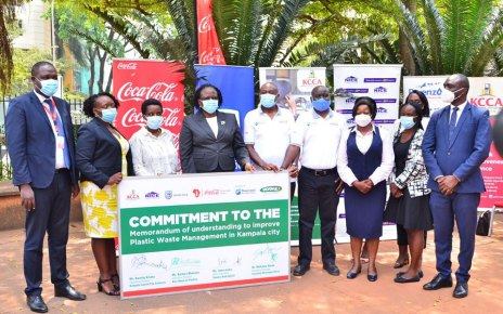 KCCA in Collaborative Partnership for Re-cycling of Plastic Waste