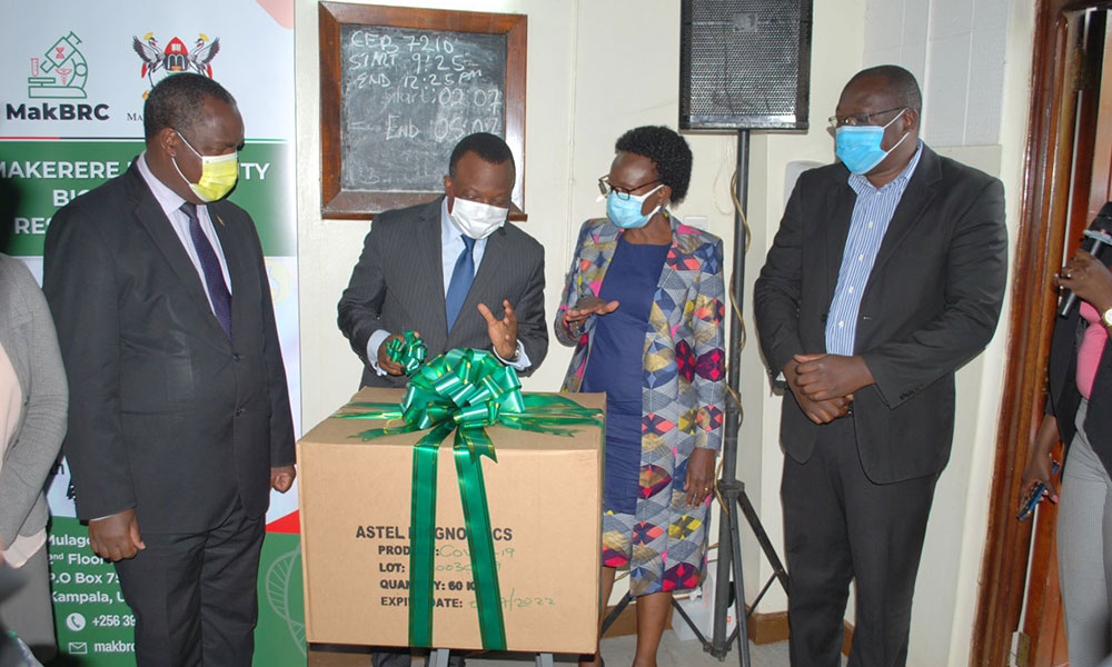 Homegrown COVID-19 Rapid Antibody Test kits Launched by Makerere University