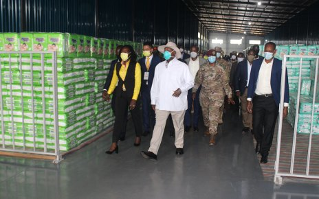President Museveni Commissions Six Industries