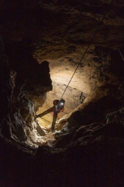 Salto sopra Sala Priabona (foto Sandro Sedran team, archivio GSM)