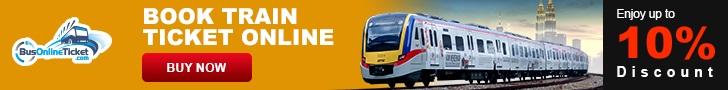Buy train ticket in Malaysia
