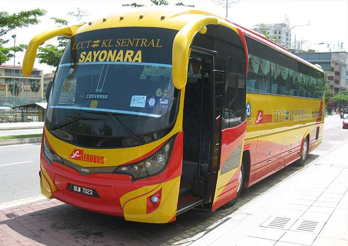 LCCT to Genting and LCCT to KL Sentral by Aerobus