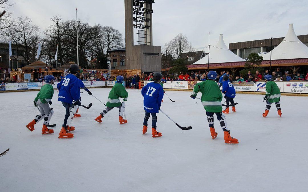 Aanmelden ijshockeycompetitie