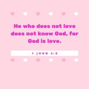 1 John 4-8