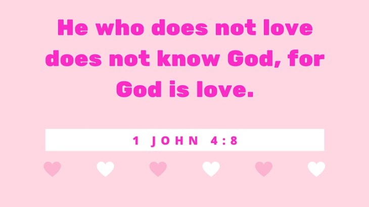 10 Bible verses about love