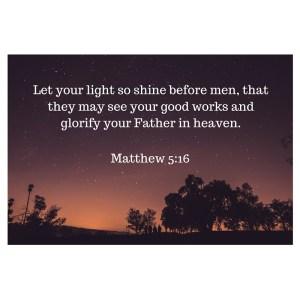 Matthew 5-16