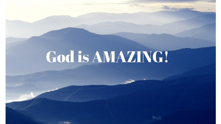 God is Amazing