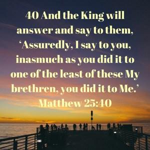Matthew 25-40