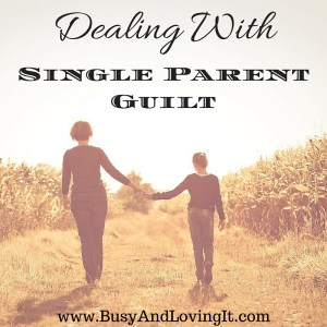 Are you dealing with single parent guilt? Does it cause you an incredible amount of stress? Read to find out how to handle it.