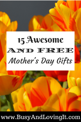 Mother's Day doesn't have to be expensive. Here are 15 awesome and free mother's day gifts you can give your mom.