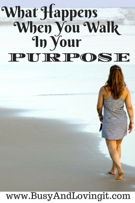 What happens when you walk in your purpose? You will see God do amazing things!
