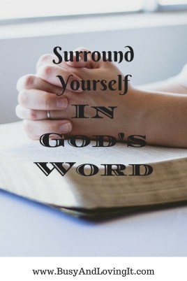 Avoid all of the noise in this world. Surround yourself in God's word and experience His peace.