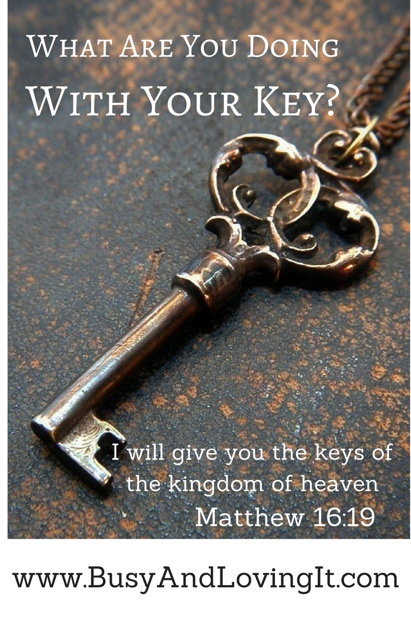 What Are You Doing With Your Key Busy And Loving It