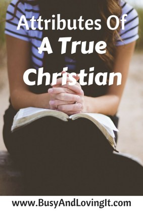 Christians don't wear identifiable coverings. However, it's easy to tell if a person is a true Christian.