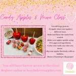 Candy Apples & More Class