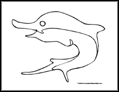 whale dolphin shark and swordfish coloring pages