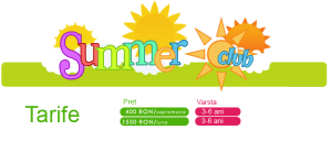 Tarife Summer Club 2014