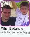 Mihai Badanoiu - Psiholog psihopedagog
