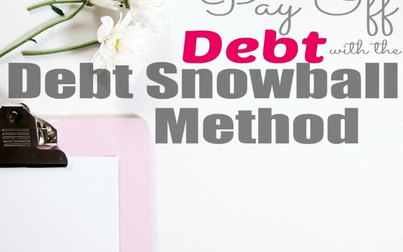 Pay Off Debt with the Debt Snowball Method