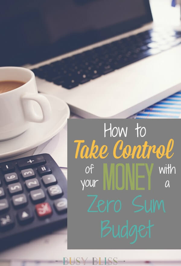 If you're struggling with your finances, you need to learn how to use a zero sum budget!  Learn how to stop wasting your money and start budgeting it for the important stuff in life.  This simple way of saving money is exactly what you need.