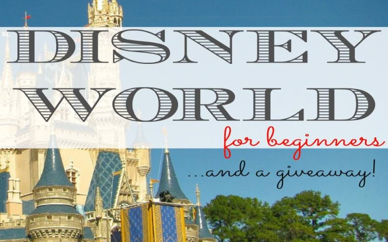 Disney World for Beginners {and a giveaway!}