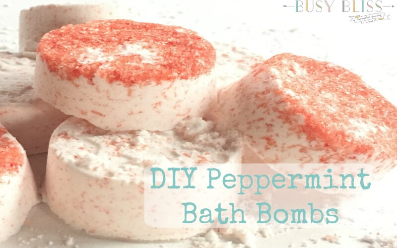 Easy Recipe for the Most Blissful DIY Peppermint Bath Bombs
