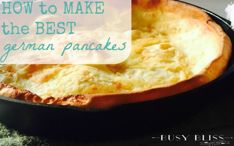 How to Make the Best German Pancakes Recipe
