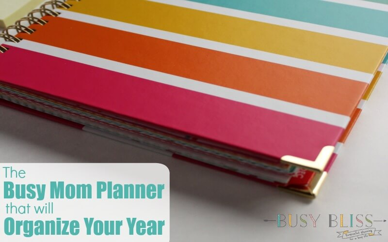 The Busy Mom Planner That Will Organize Your Year